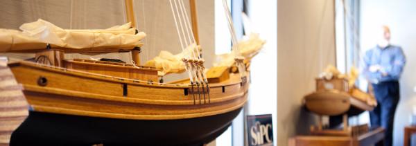 boat in lobby