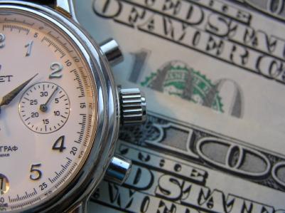 stopwatch dollar